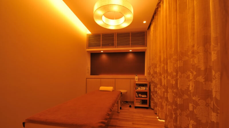 カルミア美肌クリニックの施術室