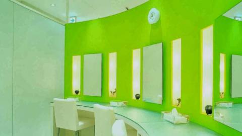広尾プライム皮膚科の化粧室