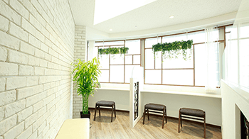 ドクター松井クリニックの待合室