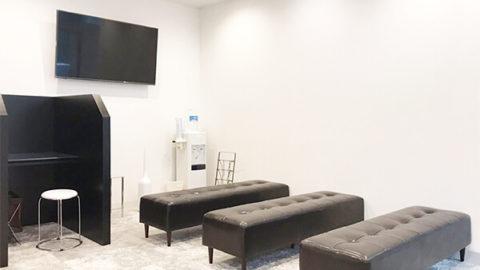 メンズリゼクリニックの待合室