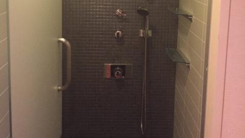 メンズTBCのシャワー