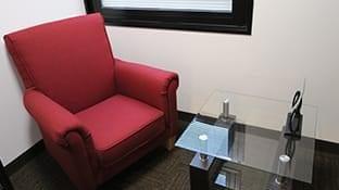 もとび美容外科クリニックの椅子