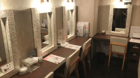 ラ・パルレの化粧室