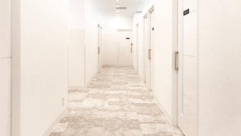 リゼクリニックの廊下