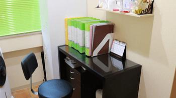 新宿美容外科クリニックの診察室