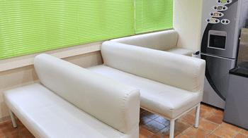 新宿美容外科クリニックの待合室