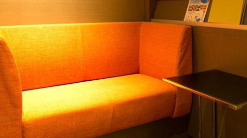 聖心美容クリニックのソファー
