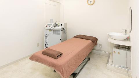 渋谷美容外科クリニックの施術室