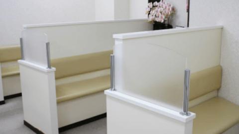 静岡中央クリニックの待合室