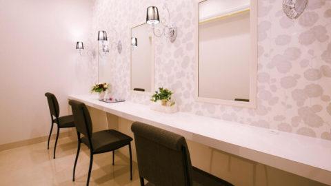 エステティックTBCの化粧室