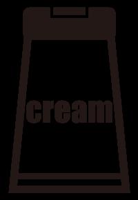 クリームのアイコン