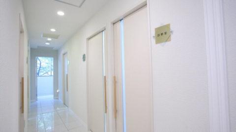 エルクリニックの廊下