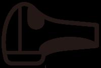 脱毛機ハンドピースのアイコン